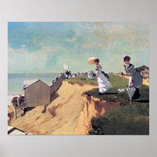 Rama larga, New Jersey de Winslow Homer Poster