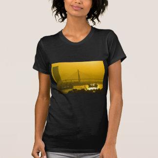Rama VIII Bridge Bangkok Sunset T Shirt