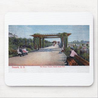 Rama vintage 1905 de Brook Park, Newark NJ Alfombrilla De Raton