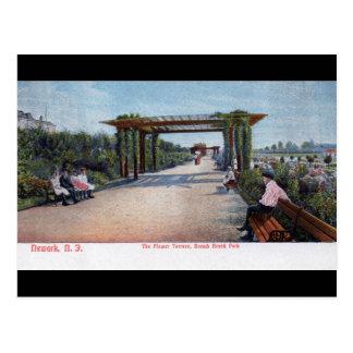 Rama vintage 1905 de Brook Park, Newark NJ Postales