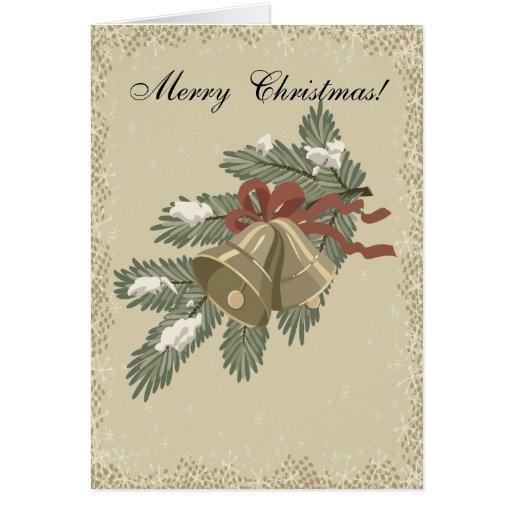 Rama y tarjeta de Navidad de Belces