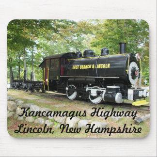 Rama y tren del este de Lincoln Mouse Pads
