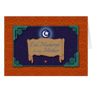 Ramadan Card for Mother, Eid Mubarak