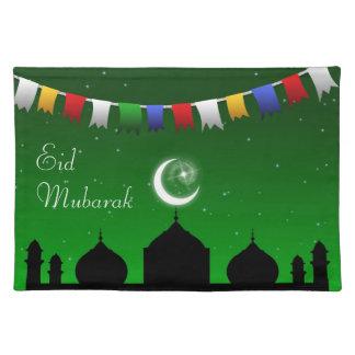 Ramadan Eid Garland - Islamic Placemat Cloth Placemat