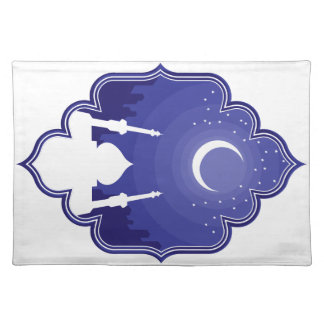 Ramadan & Eid Mubarak Greeting 2 Cloth Place Mat