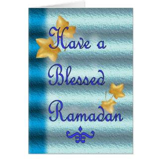 Ramadan Eid Mubarak Muslim Islamic Card