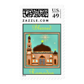 Ramadan Eid Mubarak Muslim Islamic Postage