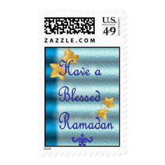 Ramadan Eid Mubarak Muslim Islamic Postage Stamps
