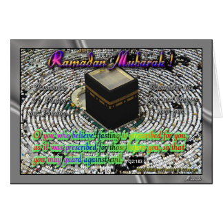 Ramadan greetings greeting cards