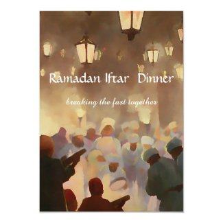Ramadan Iftar Dinner Invitation