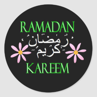 Ramadan Kareem Classic Round Sticker
