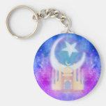 Ramadan Kareem Key ring Basic Round Button Keychain