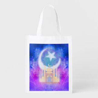 Ramadan Kareem Reusable Grocery Bag