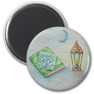 ramadan karim 2 inch round magnet