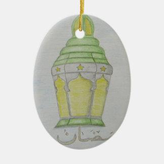 Ramadan Lantern Ceramic Ornament