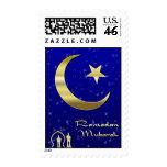 Ramadan Moon Postage Stamp