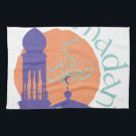 "Ramadan Mubarak Hand Towel<br><div class=""desc"">Personalize your Ramadan project with this neat design. This will look great on t-shirts,  hoodies,  banners,  tote bags and more.</div>"