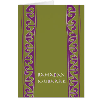 Ramadan Mubarak Note Card