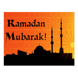 Ramadan Mubarak Post Cards
