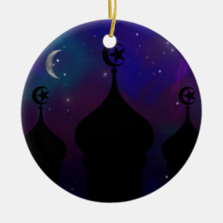 Ramadan Night Sky Christmas Tree Ornaments
