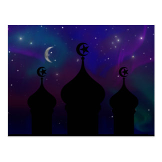 Ramadan Night Sky Postcards