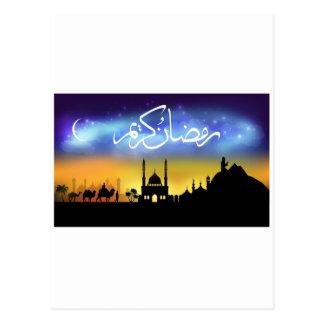 Ramadan Postcard