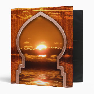 Ramadan Sunset Album Binder
