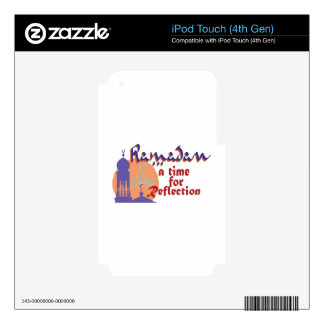 Ramadan Time For Reflection iPod Touch 4G Skins