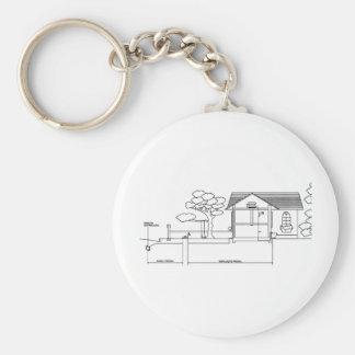 ramal planta arquitetura desenho casa de perfil chaveiros