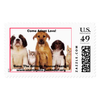 Ramapo Bergen Animal Refuge Postage Stamp