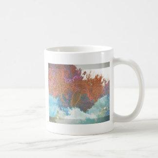 Ramas abstractas taza