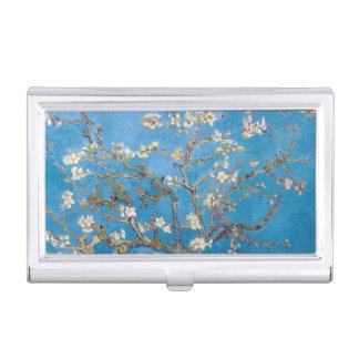 Ramas con arte de la pintura de Van Gogh del flor Caja De Tarjetas De Negocios