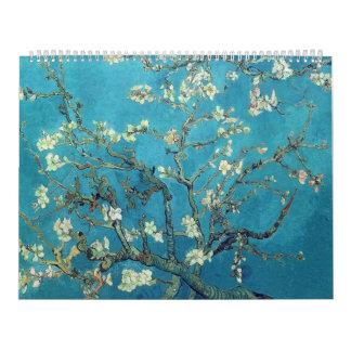 Ramas con el flor de la almendra - Van Gogh Calendario De Pared