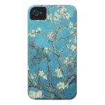 Ramas con el flor de la almendra - Van Gogh iPhone 4 Fundas