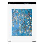 Ramas con el flor Van Gogh de la almendra Calcomanías Para El iPad