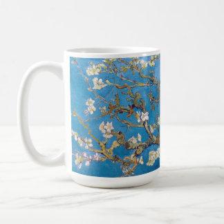 Ramas con el flor Van Gogh de la almendra Tazas De Café