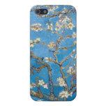 Ramas con la pintura de Van Gogh del flor de la al iPhone 5 Fundas
