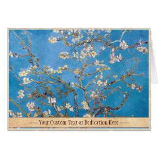 Ramas con la pintura de Van Gogh del flor de la al Tarjetas