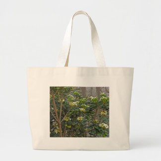Ramas de árbol de florecimiento bolsa tela grande