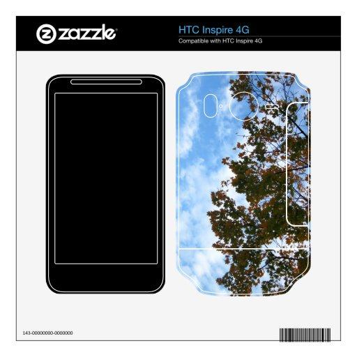 Ramas de árbol en el viento calcomanía para HTC inspire 4G