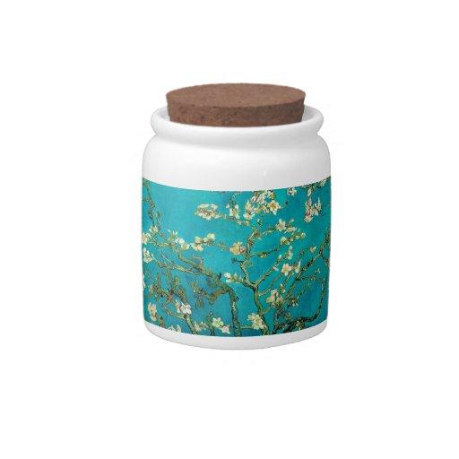 Ramas de árbol florecientes de almendra de Vincent Plato Para Caramelo