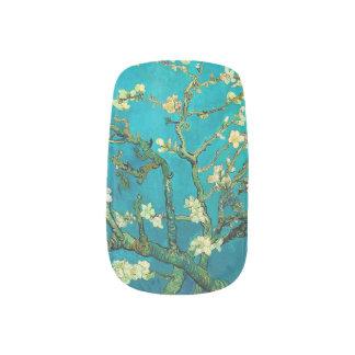 Ramas de árbol florecientes de almendra de Vincent Pegatinas Para Manicura