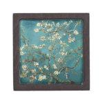Ramas de la almendra de Van Gogh en la floración Caja De Joyas De Calidad