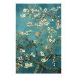 Ramas de la almendra de Van Gogh en la floración Papeleria De Diseño