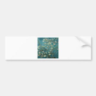 Ramas de la almendra de Van Gogh en la floración Pegatina Para Auto