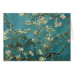 Ramas de la almendra de Van Gogh en la floración Felicitacion
