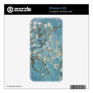 Ramas de la almendra de Vincent van Gogh el | en Calcomanía Para iPhone 4