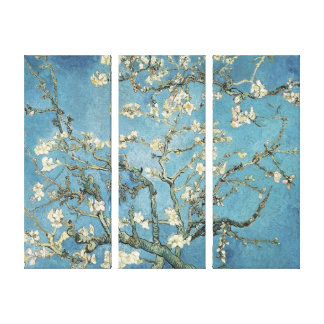 Ramas de la almendra de Vincent van Gogh el   en Impresión En Lienzo