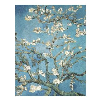 Ramas de la almendra de Vincent van Gogh el | en Membretes Personalizados