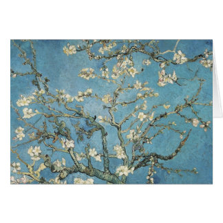 Ramas de la almendra de Vincent van Gogh el | en Tarjeta De Felicitación